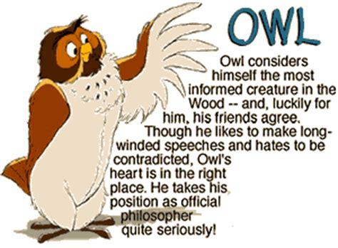 Winnie The Pooh Birthday Quotes Owl Winnie The Pooh