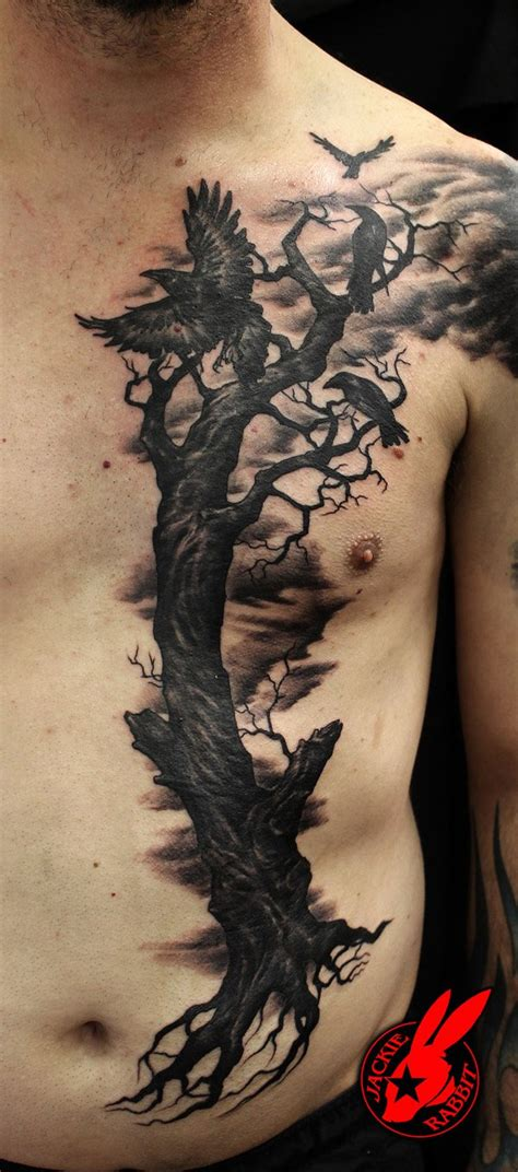 raven tattoos for men ideas and inspiration for guys