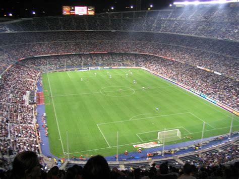 gambar stadion camp nou barcelona wallpaper