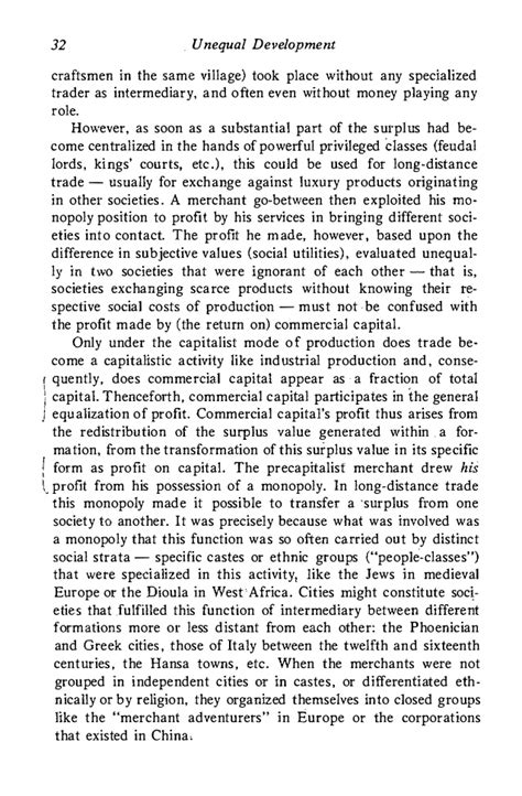 Social Development Essay by 1976 Amin S Unequal Development An Essay On The Social Formations