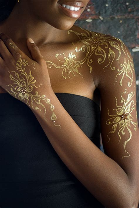 gold pattern tattoo gold henna detail flickr photo sharing