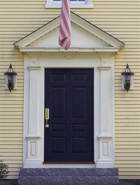 Exterior Door Pediment 17 Best Images About Mudroom Side Entrance Ideas On Entry Ways Hooks And Colonial