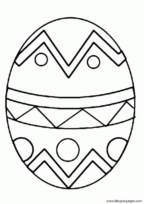 imagenes para pintar huevos de pascua pascua huevos 013 dibujos y juegos para pintar y colorear