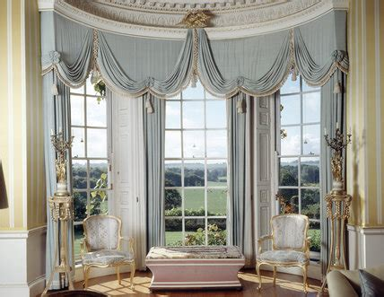 draped curtain ideas the drawing room at hinton ner with views from the
