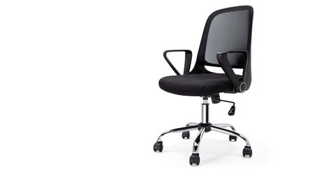 Rizzo Swivel Office Chair Black Made Com Swivel Office Chairs