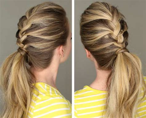 braid into ponytail 50 french braid hairstyles for 2015 stayglam
