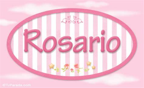 significado del nombre rosario origen nombres de nio rosario nombre decorativo ni 241 as nombres im 225 genes