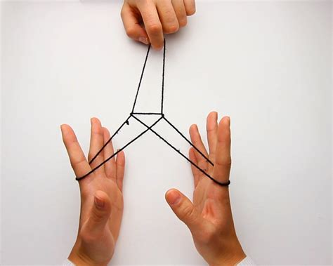 Step By Step String - how to make an eiffel tower with string with pictures