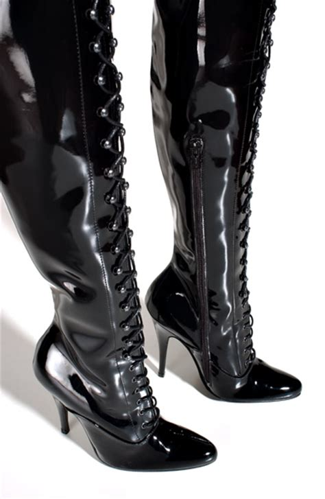 spiked thigh high boots yu boots