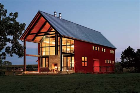 contemporary barn this beautiful wisconsin vacation retreat is a modern home