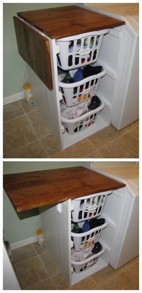 diy laundry folding table best 25 laundry basket dresser ideas on