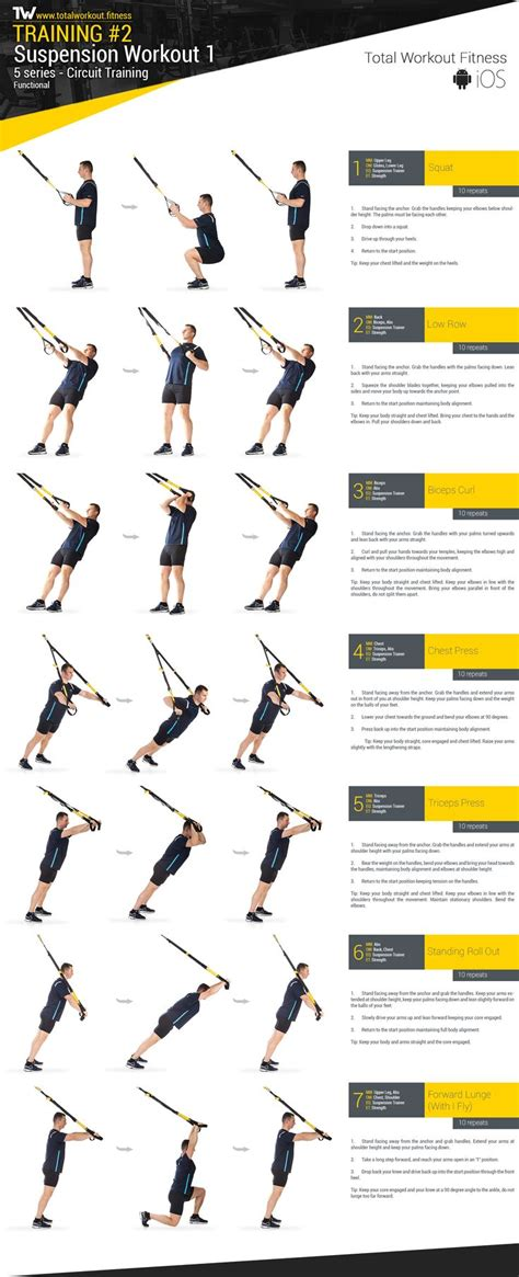 25 best ideas about trx workout routine on