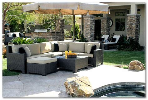 jcpenney cindy crawford outdoor furniture rustics log