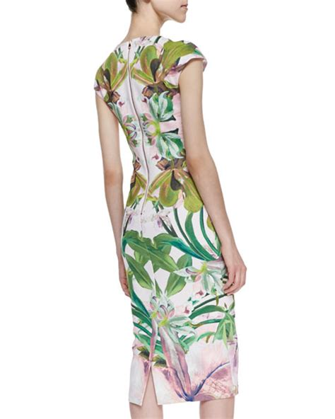 Safiya Dress ted baker safiya jungle orchid print cocktail dress