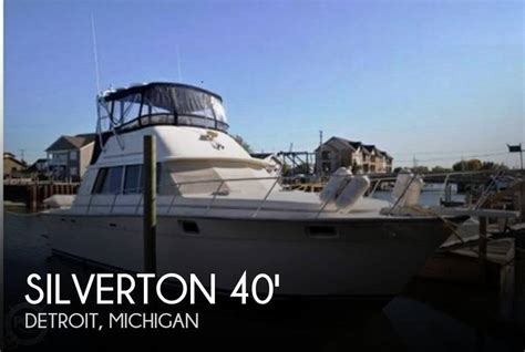 Silverton 40 Aft Cabin Review by Sold Silverton 40 Aft Cabin In Detroit Mi Pop Yachts