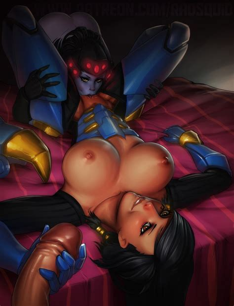 More Overwatch Porn With Mercy And Other Heroes Overwatch Hentai