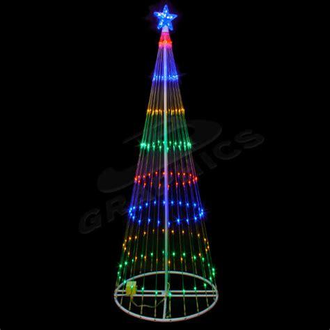 9 foot led light trees 4 foot multi color led showmotion tree