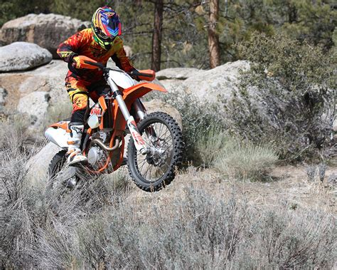 2015 Ktm 250 Xc 2015 Ktm 250 Xc F Dirt Bike Test