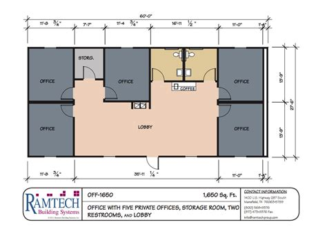 job layout of building ramtech relocatable and permanent modular building floor plans