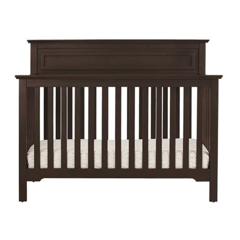 Davinci Autumn 4 In 1 Convertible Crib In Espresso With Davinci Crib Mattress