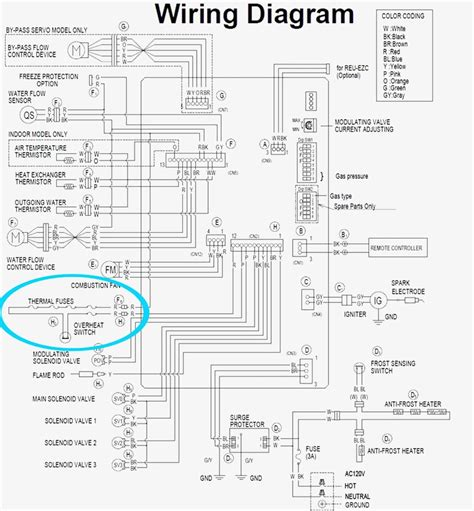 wiring diagram for rheem tankless water heater wiring