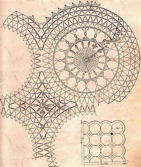 pattern motif crochet crochet art crochet tablecloth pattern vintage crochet