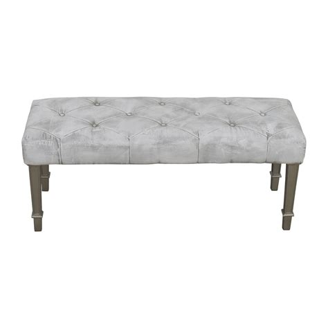 pier one bench 56 off pier 1 imports pier 1 imports white paint finish