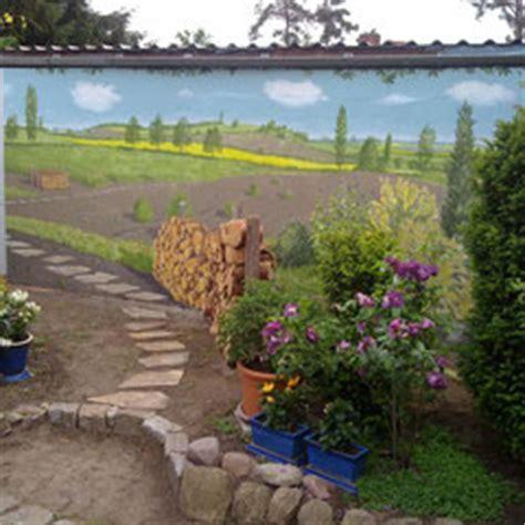 Sichtschutzwände Für Den Garten by W 228 Nde Au 223 En Illusionen Ich Ihre W 252 Nsche Wahr Wandmalerei Fassaden Kunst Farbe Bilder