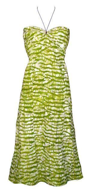 lime green dress tie dye dress  jahnhoy rootical