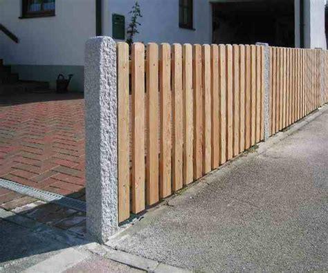 Gartenzaun Holz Selber Bauen 4653 by Sichtschutz Aus Holz Gartenzaun Bauen