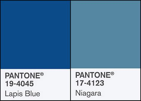Bandung In Pantone Color Pt Two 2 claymates pantone fashion colors niagra and lapis blue