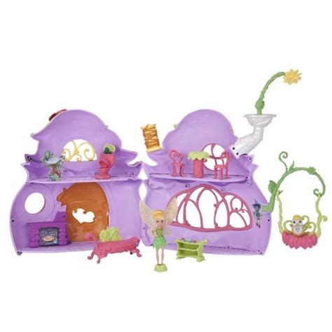 tinkerbell haus disney fairies ultimate house tink s pixie cottage