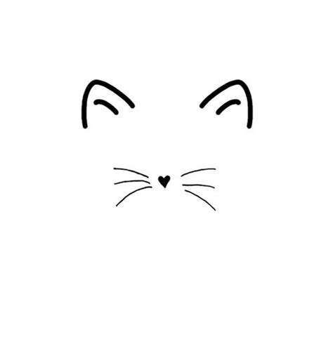 cat whiskers tattoo 1000 ideas about kitten on cat tattoos