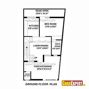 7 5 46 size houses map design architectural plans naksha commercial and residential