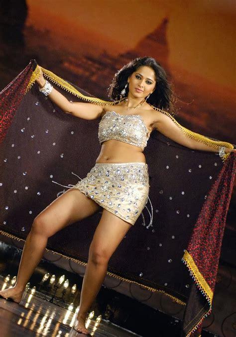 Skirt Hq Anushka Shetty Thunder Thighs And Navel Show