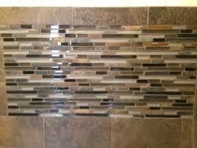 mosaic subway tile backsplash slate subway tile with glass mosaic vanity backsplash and