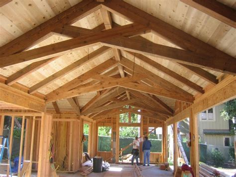 Vaulted Ceiling Structural Design by 1000 Images About Exposed Roof Trusses On