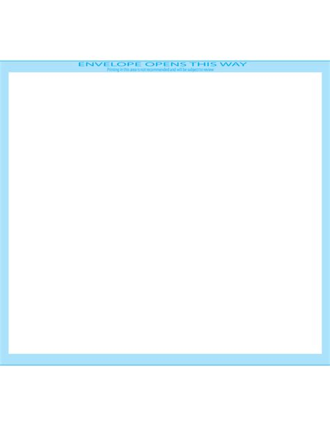 booklet envelope template booklet envelopes 7 x 10 front free