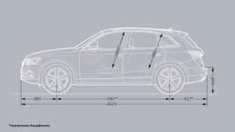 Audi Q5 Interior Dimensions Audi Q5 Dimensioni Black Hairstyle And Haircuts
