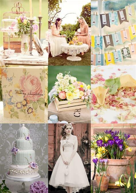 vintage spring garden wedding ideas moody monday the
