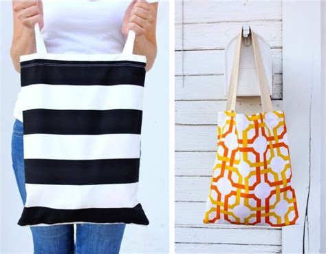 tutorial tote bag with pockets tutorial basic pocket tote made