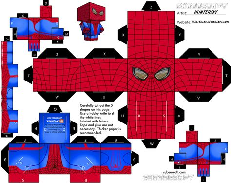 Spider Papercraft - free printable paper is it for