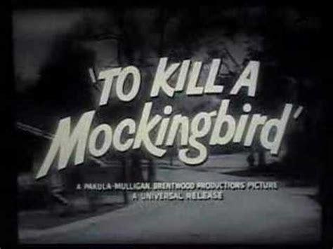 to kill a mockingbird theme song youtube to kill a mockingbird trailer youtube