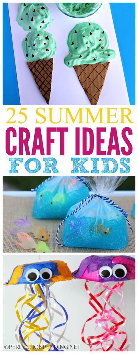 pattern activity ideas 25 summer crafts for kids summer crafts craft and summer