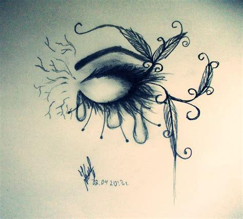 imagenes sad a lapiz cool eye drawings tumblr sad eye tears artmaker77