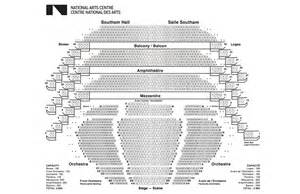 Seating Chart Winter Garden Theatre - seating plans national arts centre