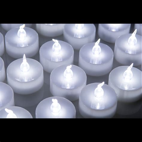24 pcs led tealight battery operated flameless flickering