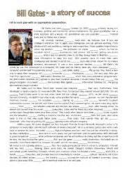 Encyclopedia Of World Biography Bill Gates   english teaching worksheets bill gates