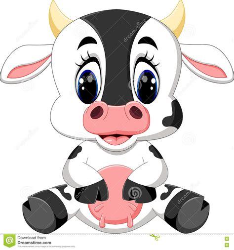 imagenes de vacas sin fondo historieta linda de la vaca del beb 233 ilustraci 243 n del