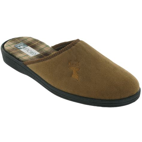 slipper shoes mens mirak shoes buck mens slippers from palmers